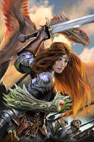 witchblade 138 cover by nebezial