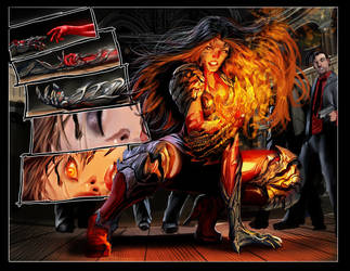 witchblade 144 preview by nebezial