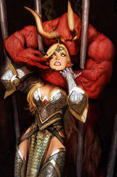 zenescope cover grimm fairy tales by nebezial