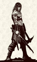 by crom...come at me bro! by nebezial