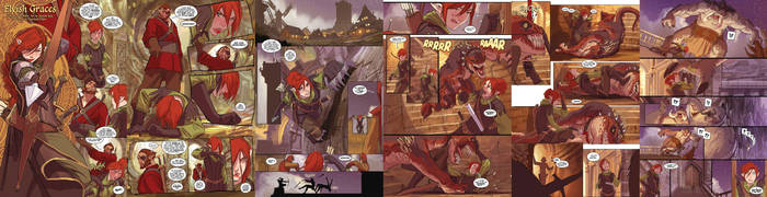 before skullkickers preview pages by nebezial