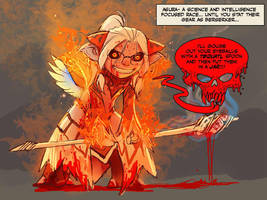 berserker asura! science with a dash of bloodlust by nebezial