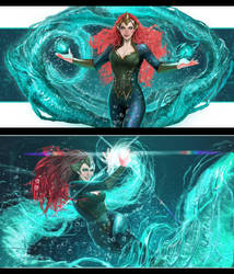 so i discovered i really like mera by nebezial