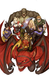 teen titans metal cover by nebezial