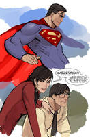 i don't know...superman theme started playing... by nebezial