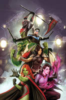titans 23 variant cover by nebezial