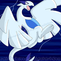 Lugia by ReignbowFright