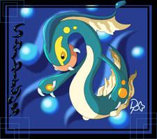 Pokemon BnW - Shibirudon by ReignbowFright