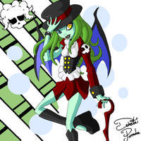 Monster High OC - Cathilu by ReignbowFright