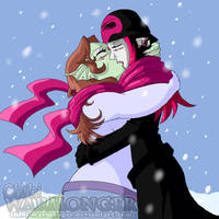 Kiss In The Winter by ReignbowFright