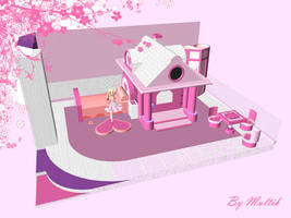 MMD Accessory Doll Room by innaaleksui