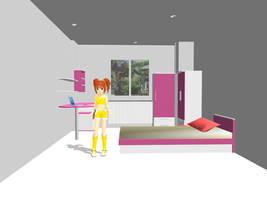MMD accessory room by innaaleksui