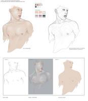 Flesh Tone Tutorialish by novenarik