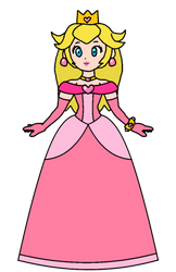 Peach - Princess Melody Pinklight by KatLime