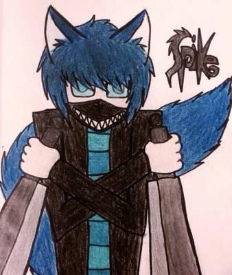 Spike (Art Trade) by xxsunslashxx