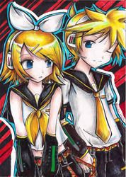 Rin and Len by Patty-kun