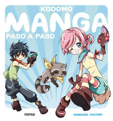 KODOMO MANGA PASO A PASO cover by Atzur