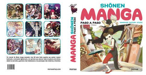 SHONEN MANGA PASO A PASO by Atzur