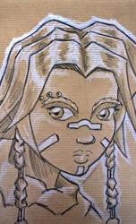 Angoar - Dwarf druidess by fregius