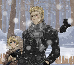 Shane and Jade by Arwencilla