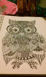 Owl by crystalrayne24