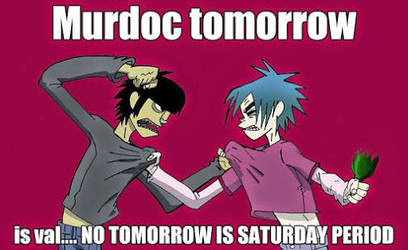 2D and murodc meme by fossildigger24