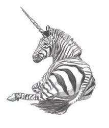 Zebra Unicorn by lil-Dose