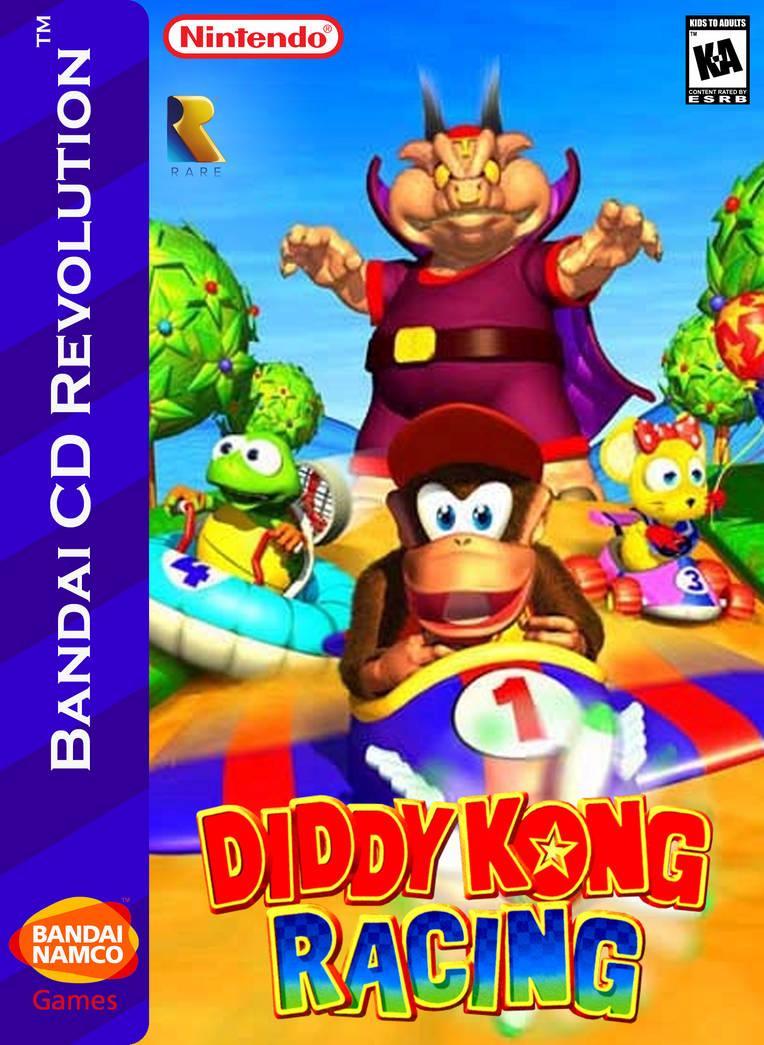 Diddy Kong Racing Box Art By Artchanxv On Deviantart