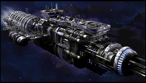 Tesla Eleven Spaceship by Tryingtofly