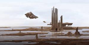 Return to xyrigon base by Tryingtofly