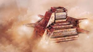 Cloud Altar by Tryingtofly