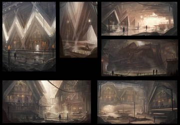 environment design sketches2 by Tryingtofly