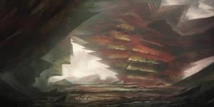 Alien world by Tryingtofly