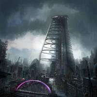 Future Glasgow by Tryingtofly