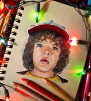 Dustin Henderson by ElMishkn