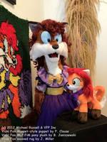 Vicki Fox puppet, Vicki Fox pony by VickiFox