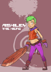 Ashley! by UNiCOMICS-Chowkofsky