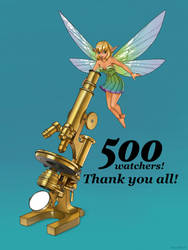 500 Watchers Celebration! by MatsOhrman