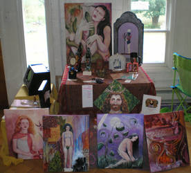 SHWC2007: Paintings and Crafts by steward