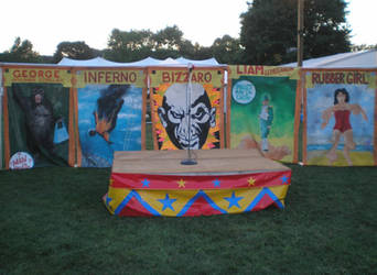 Sideshow Stage by steward