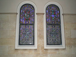 Stained Glass Windows by steward