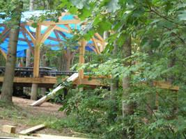 Pavilion Under Construction 1 by steward