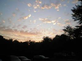 Sky the last morning by steward