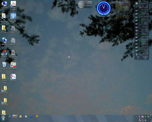 New Win7 Desktop by steward