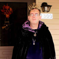 Garb for Candy Distribution, Samhain 2013 by steward