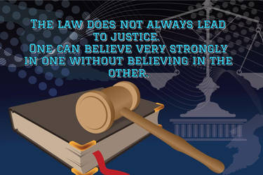 Law vs Justice by steward