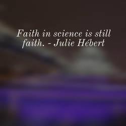 Faith in Science by steward