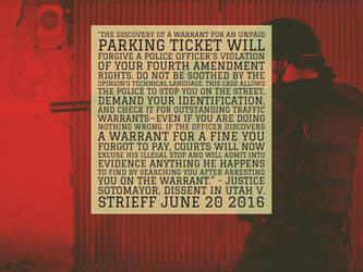 2016 4th Amendment Evisceration by steward