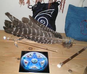 Closeup - Feri-Healing altar by steward