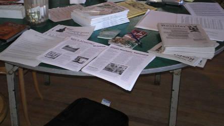 RDG: More leaflets by steward